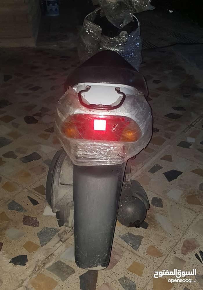 Suzuki motorbike made in 2014