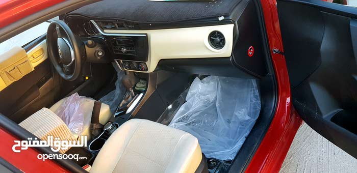Automatic Red Toyota 2019 for sale