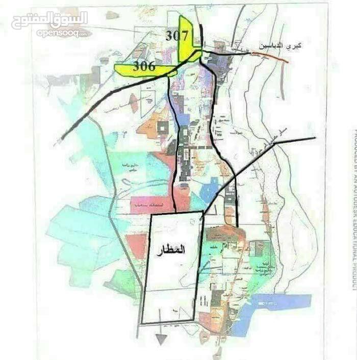 اراضي قدامي المحاربين وحي المطار ابو سعد