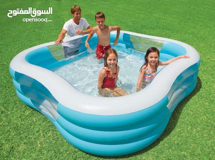 بركة سباحة عائلية 57495 Intex قياس 2.29*2.29*56 سم