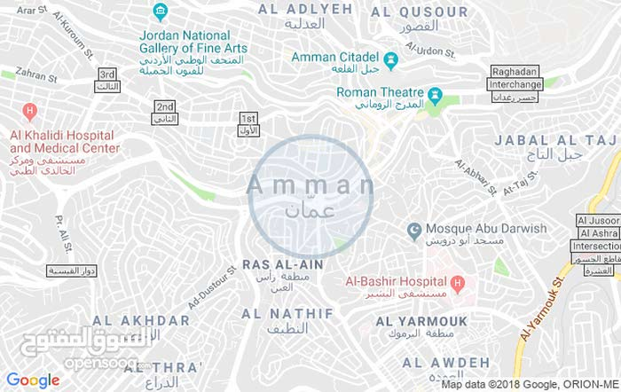 apartment for rent in AmmanAl Ashrafyeh