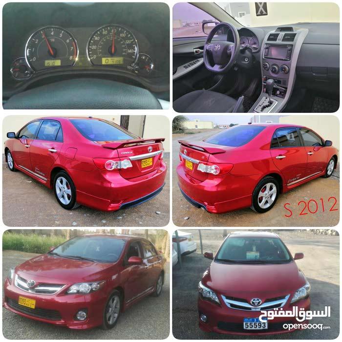 Gasoline Fuel/Power   Toyota Corolla 2012