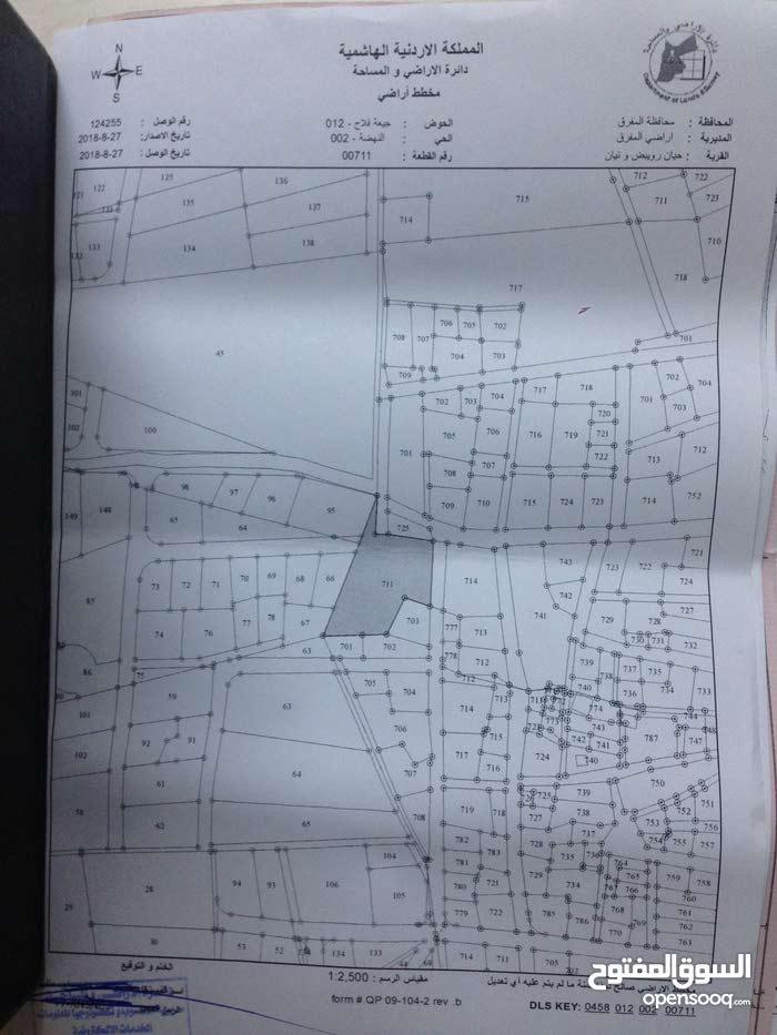 قطعة ارض للبيع في حيّان رويبض (بلعما) مقابيل جامع حيّان الكبير