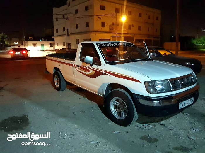 White Nissan Pickup 1999 For Sale