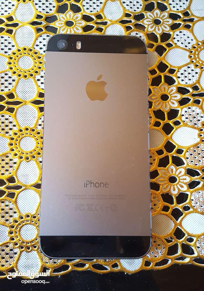 هاتف ايفون 5s امريكي مشفر جاهز