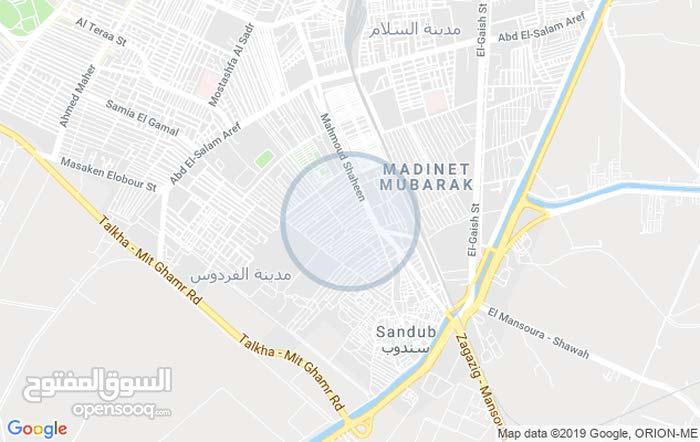 مدينة النهضة وتر فردي بحري ترخيص حي شرق المنصوره سعر المتر 6500 مميزه شارع 12م