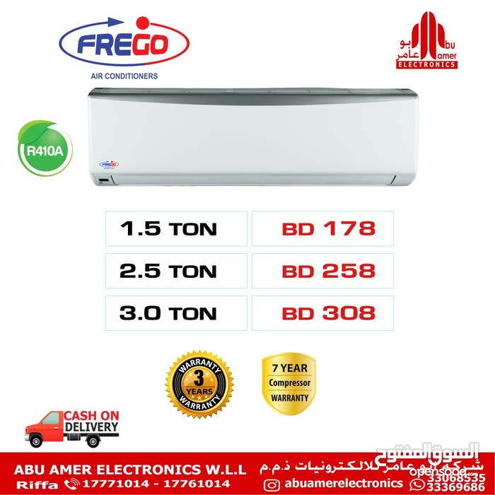 we sell all types of spilit and window type of aircondioners  at lowest prices