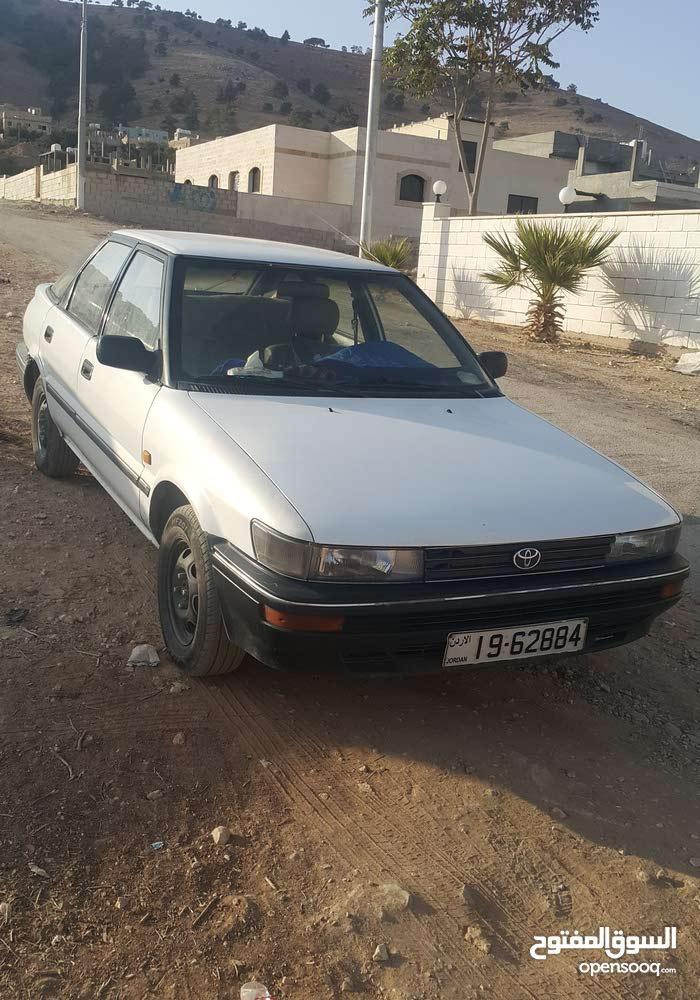 Toyota Corolla 1992 - Manual