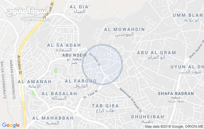 apartment for rent in Amman city Abu Nsair