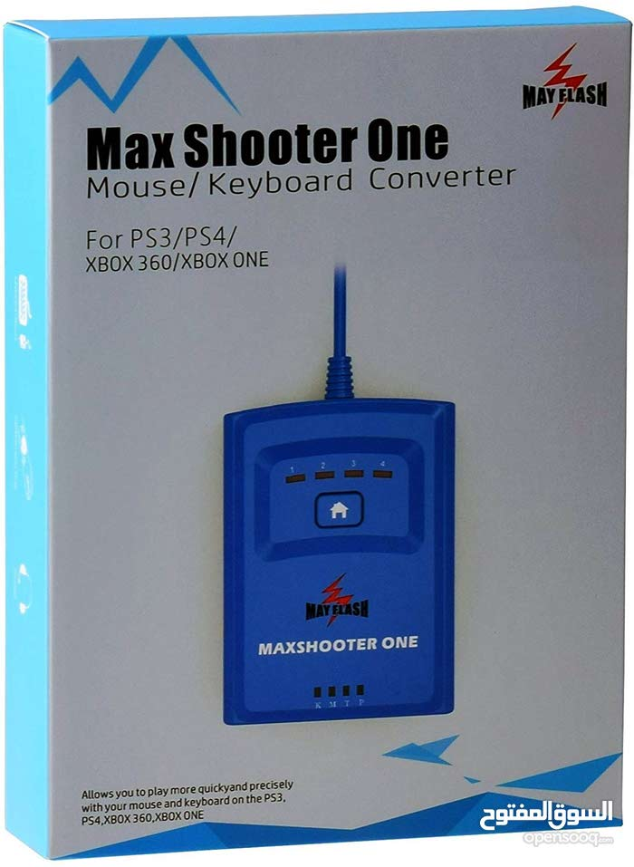 Max Shooter One for xbox360 ; xbox one ;PS3 PS4 وصلة للكيبورد والماوس