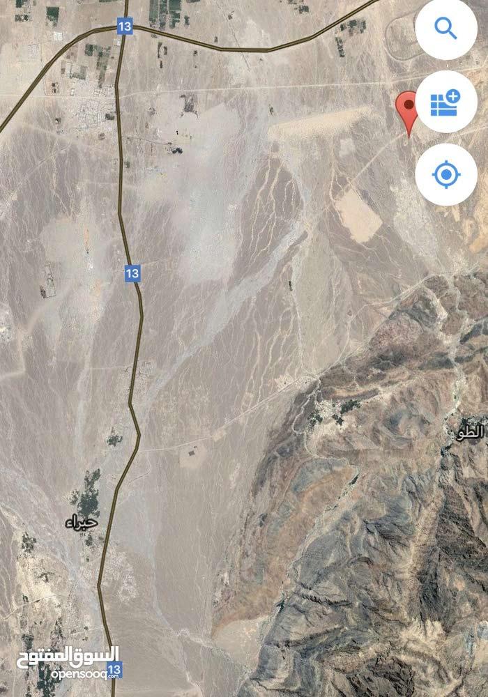 ارض للبيع في ولاية وادي المعاول منطقة النهضه