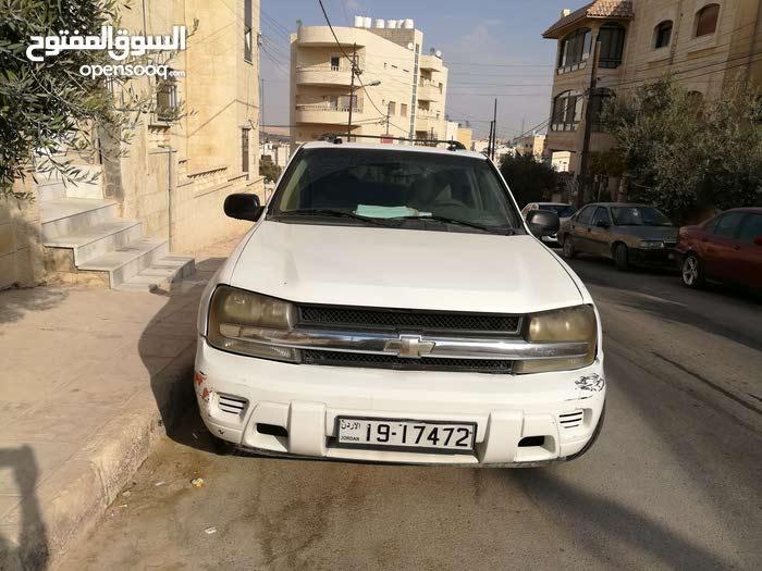 White Chevrolet TrailBlazer 2005 for sale