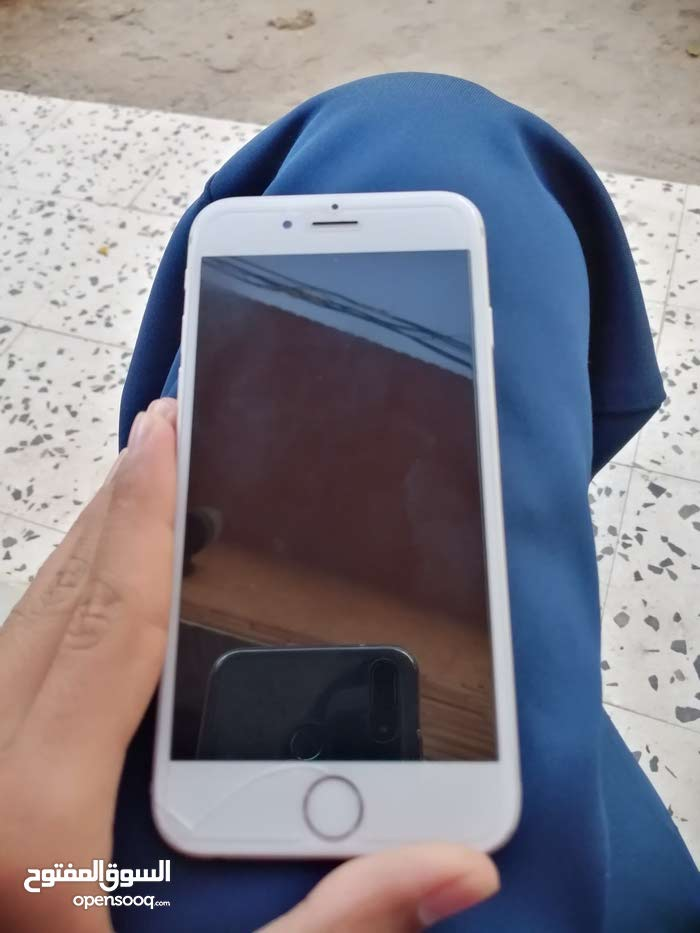 ايفون 6 استعمال امريكي نظيف التليفون فيه كسره واحده
