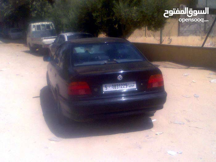 Black BMW 520 1998 for sale