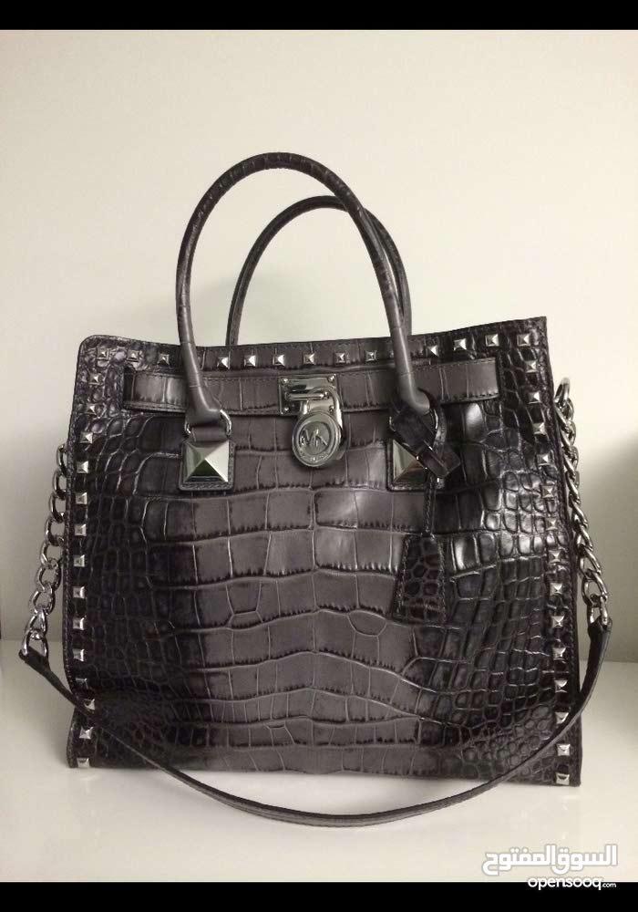 Michael Kors Hamilton Studded leather bag
