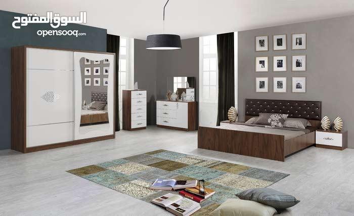 New 7 Pieces Bed Room Set