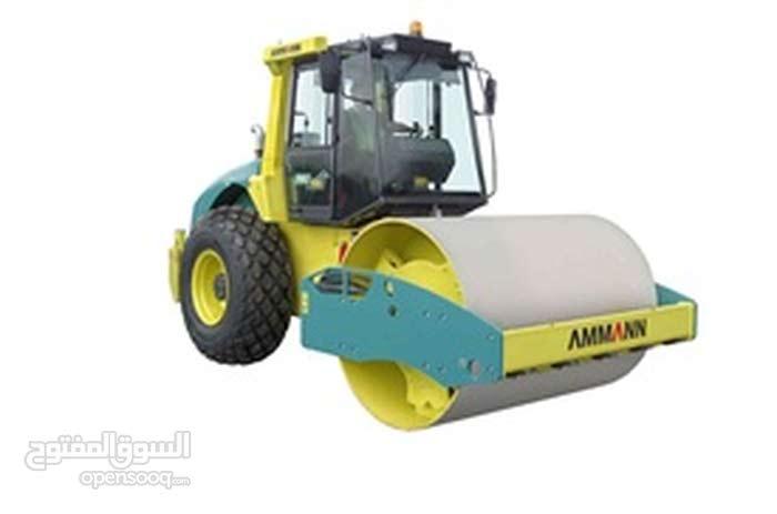 AMMANN SINGLE DRUM ROLLER ASC 100 T1