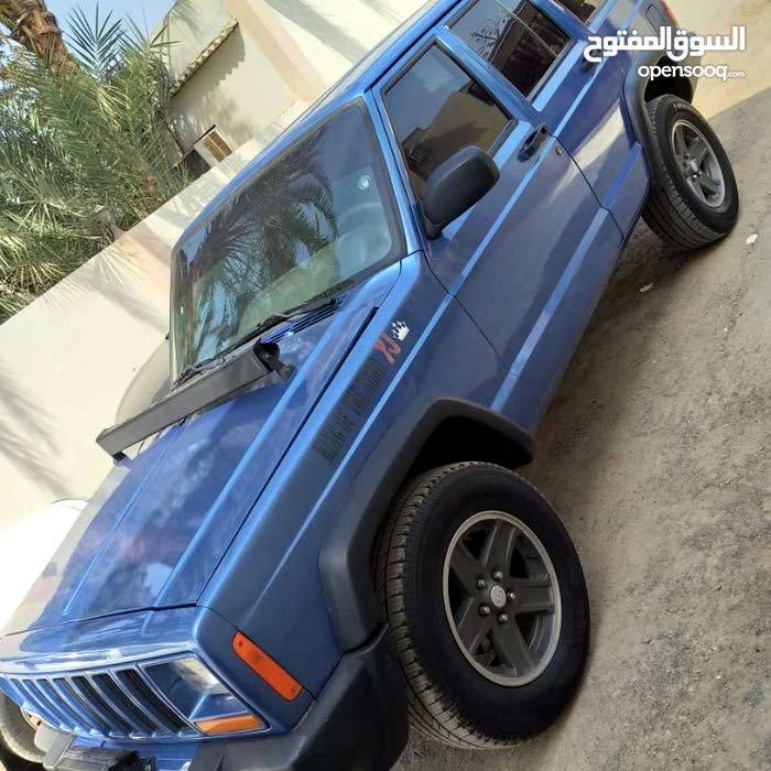 Blue Jeep Grand Cherokee 2000 for sale
