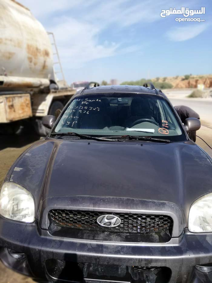 2003 Used Santa Fe with Automatic transmission is available for sale