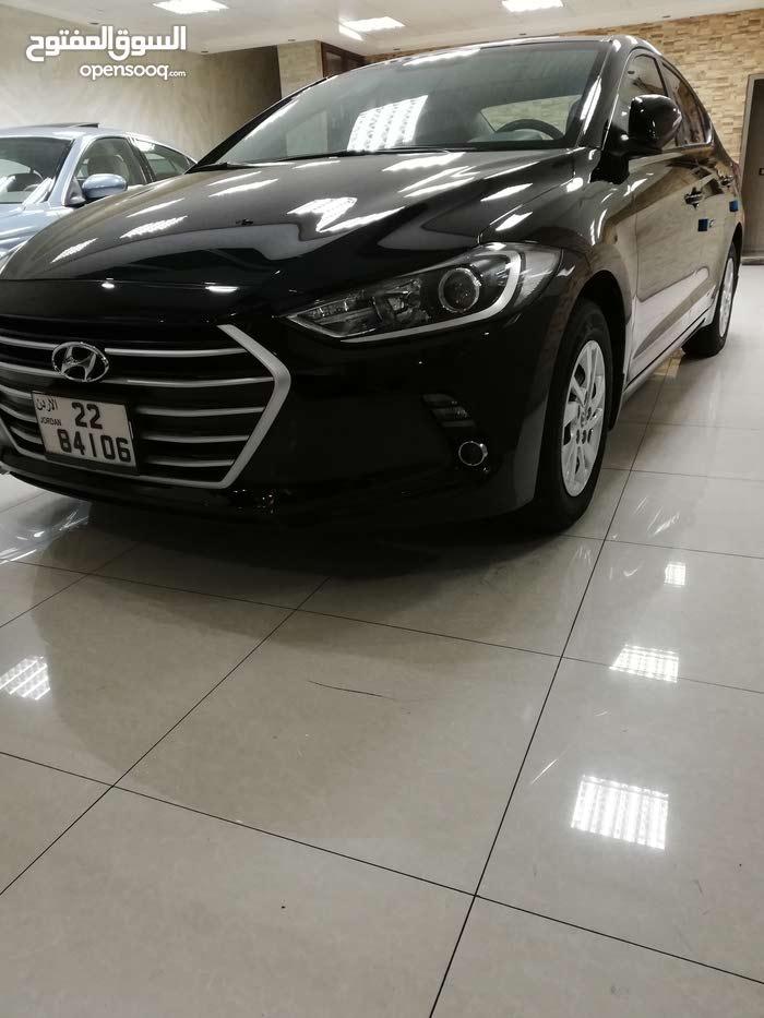 Hyundai Elantra 2017 For Sale Black Color 93399135 Opensooq