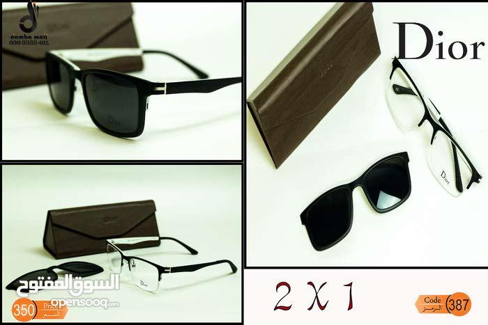 نظارات طبية وشمسية 1*2