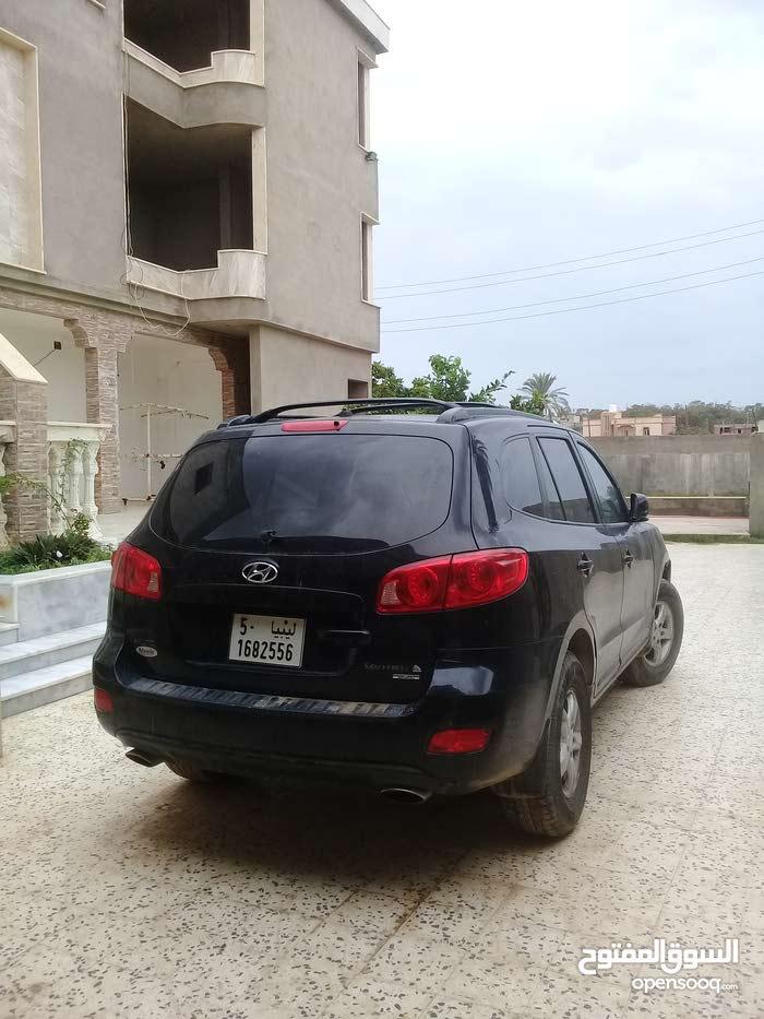 Black Hyundai Santa Fe 2010 for sale