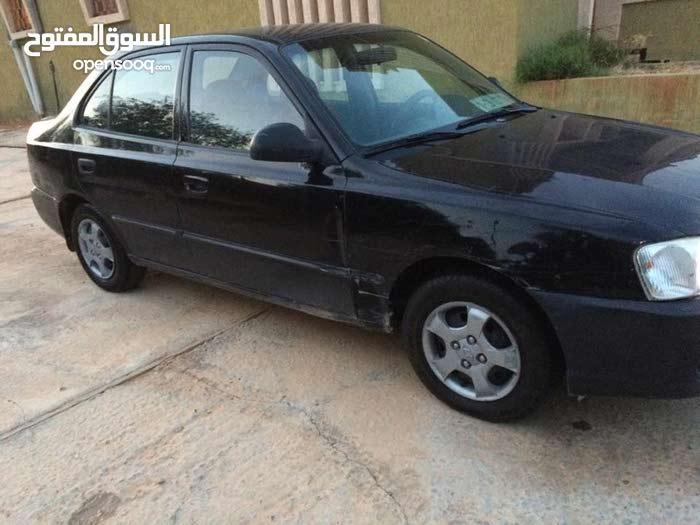 Black Hyundai Verna 2003 for sale