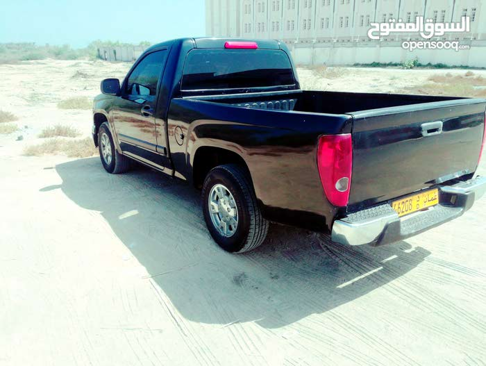Black Chevrolet Colorado 2008 for sale