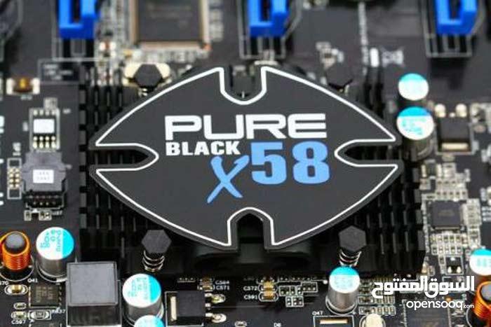 مطلوب لوحه سوكيت Motherboard x58 LGA-1366