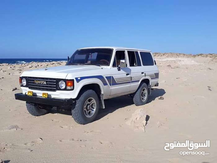 Toyota Land Cruiser Used in Tobruk