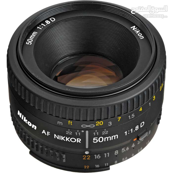 nikon 50mm lens for portrait and blur background