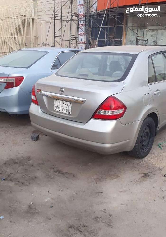 Nissan Tiida car for sale 2007 in Jeddah city