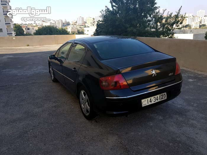 Black Peugeot 407 2005 for sale