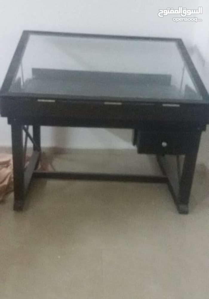 طاولة شف لطلاب الهندسة تفصيل خشب زان