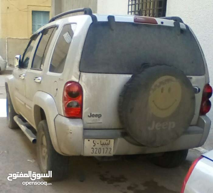 Used condition Jeep Liberty 2002 with +200,000 km mileage