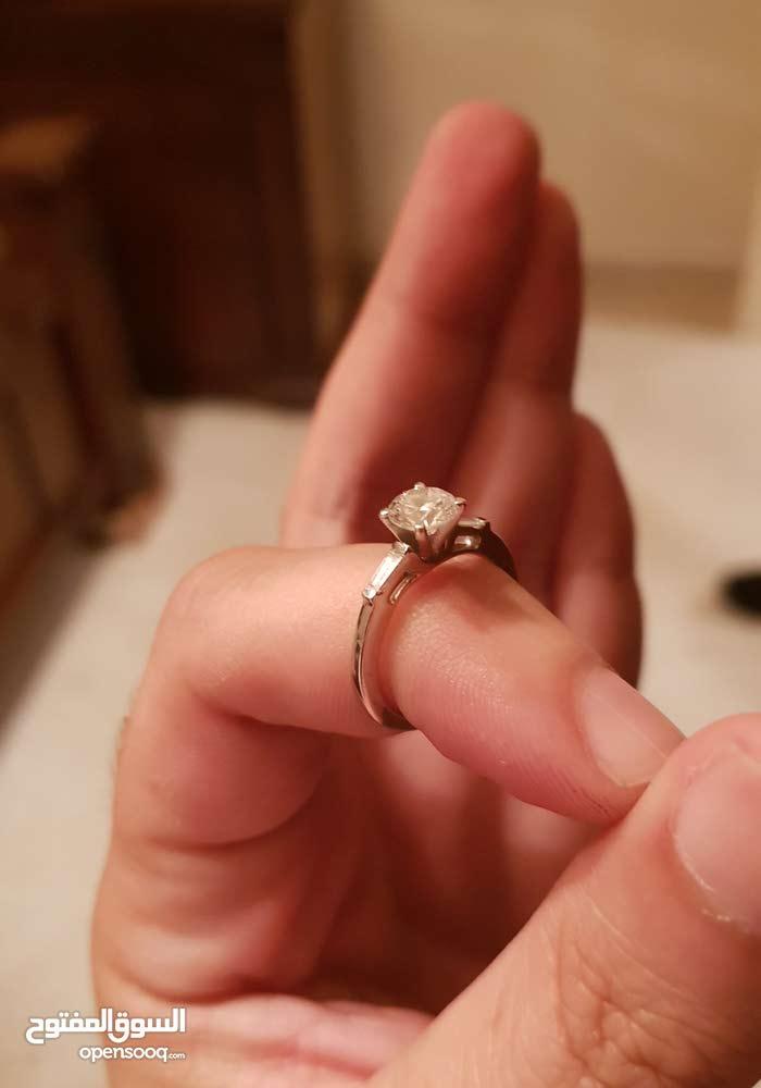 diamond solitare 0.95 ct white gold