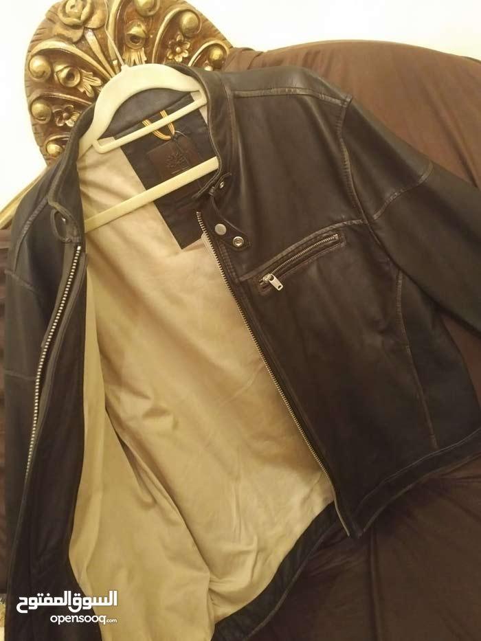جاكيت تمبرلاند جلد _ jacket leather timberland