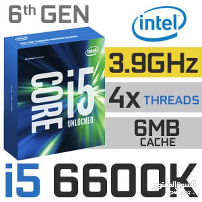بورد ومعالجة احترافية i5 6600k