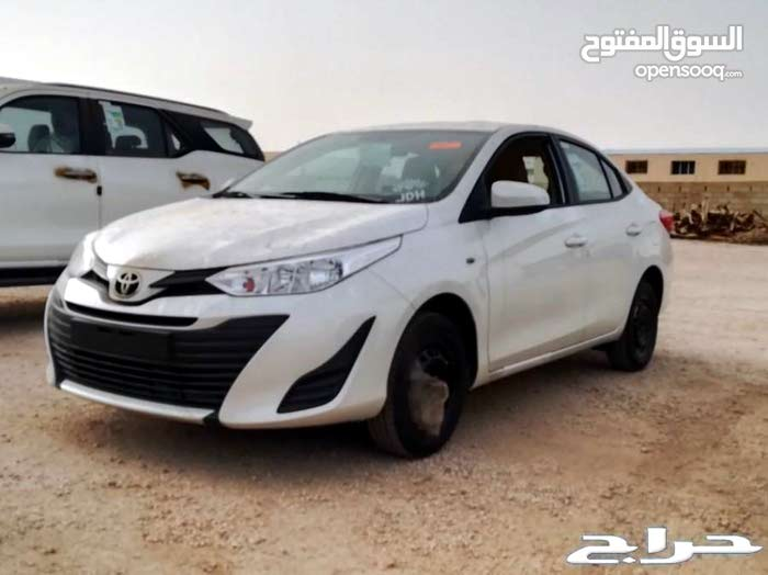 Toyota Yaris 2019 For Sale White Color 90597570 Opensooq