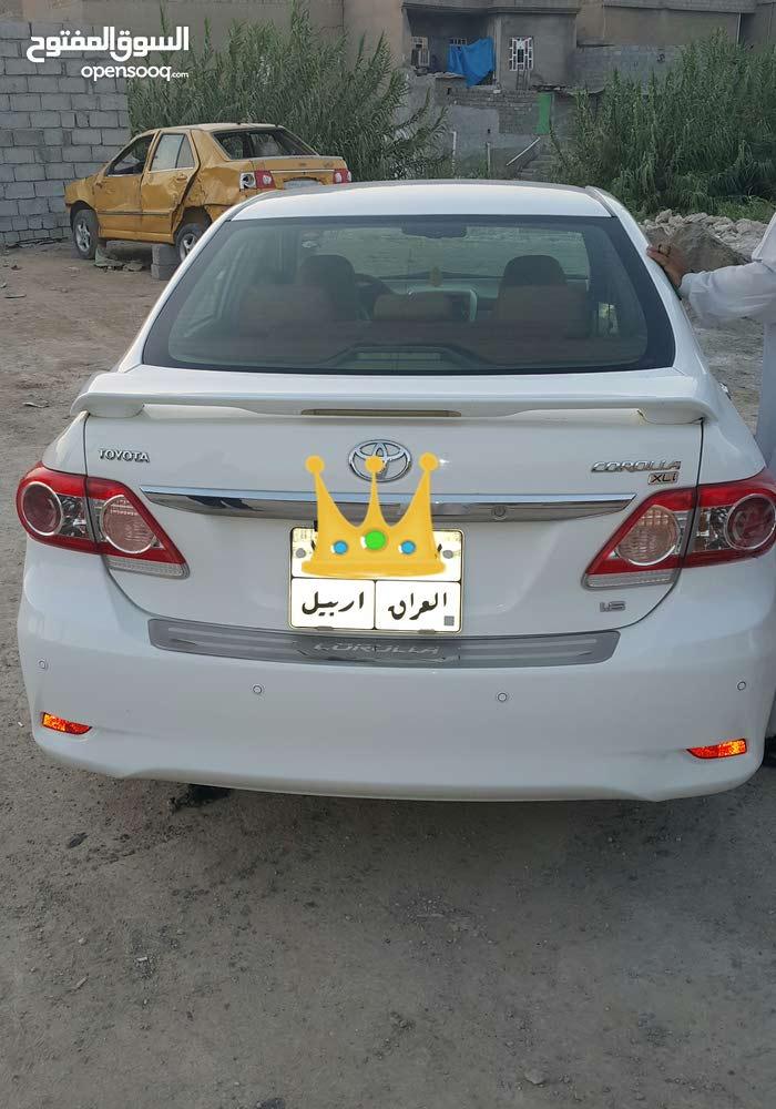 سيارة كوريلا 2013 ابيض اللون رقم اربيل موقعي موصل تلعفر