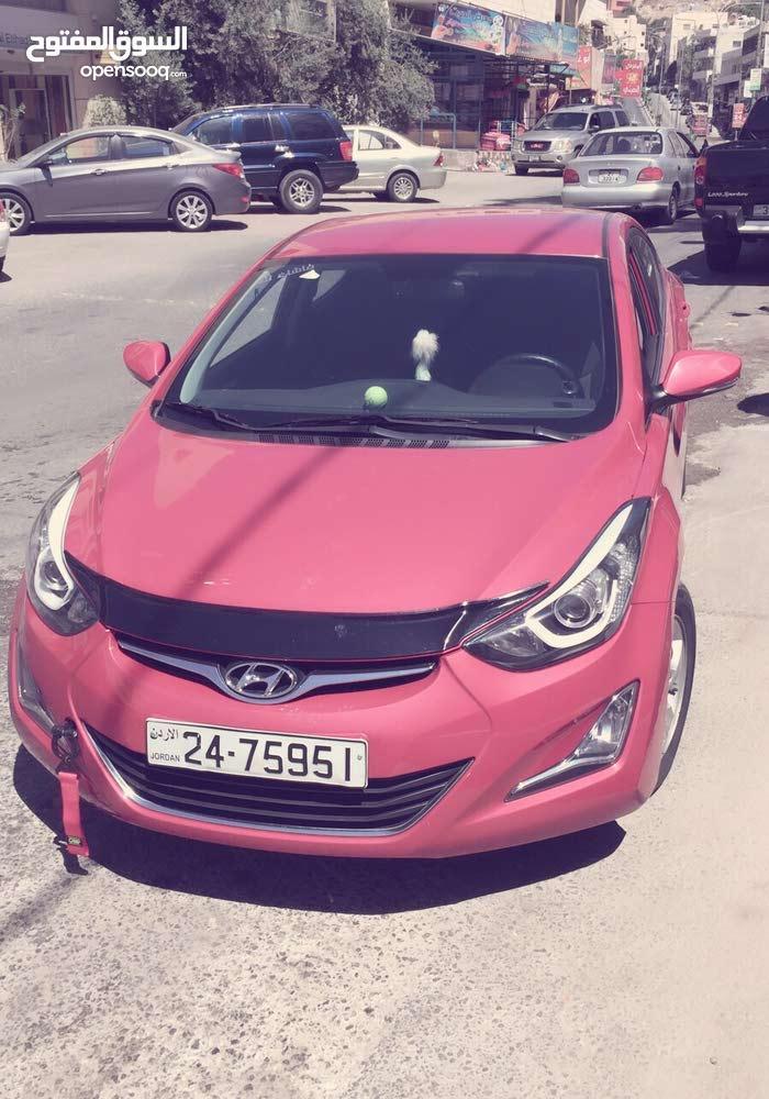 Hyundai Avante for rent in Salt