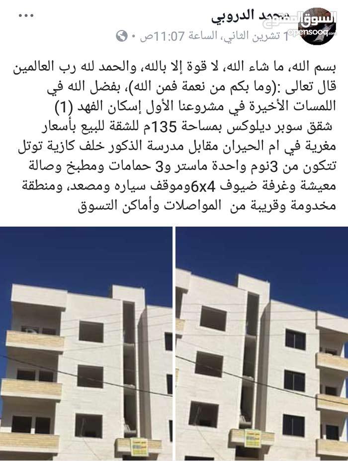 شقق مميزة للبيع عمان القويسمة ام الحيران حي الإذاعة والتلفزيون