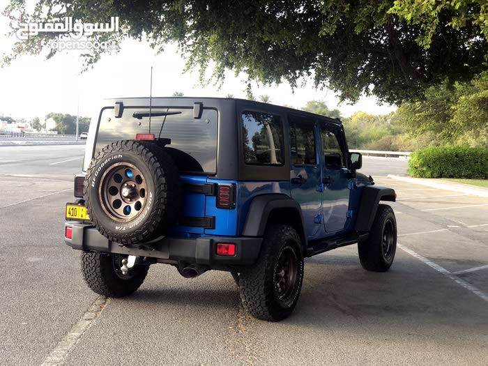 Jeep Wrangler 2016 For Sale Blue Color 92627071 Opensooq