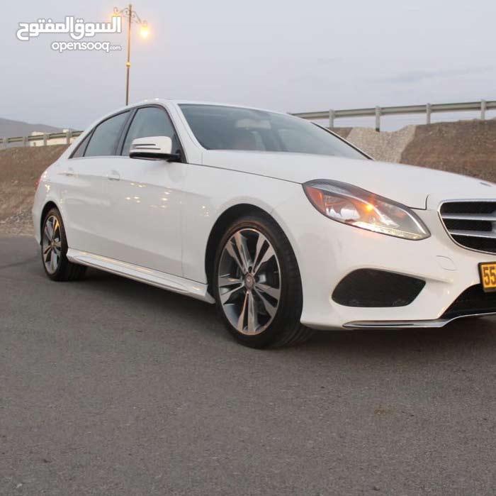 Mercedes Benz E 350 2014 For sale - White color