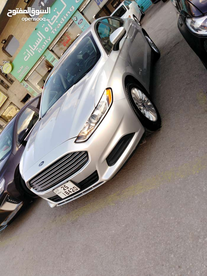 Silver Ford Fusion 2016 for sale