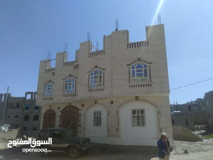 عرطة .. عمارة مسلح دورين حجر 3 شوارع 16/12/3 وفي ارقى الاحياء السكنية بصنعاء