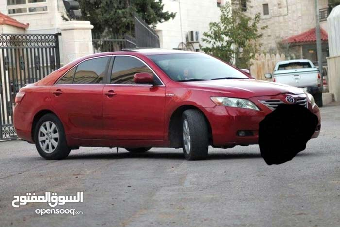 Camry 2008 for rent in Amman
