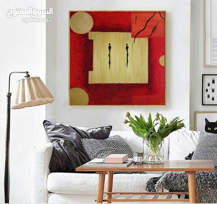 لوحة ألوان زيتي الحجم 40 × 40