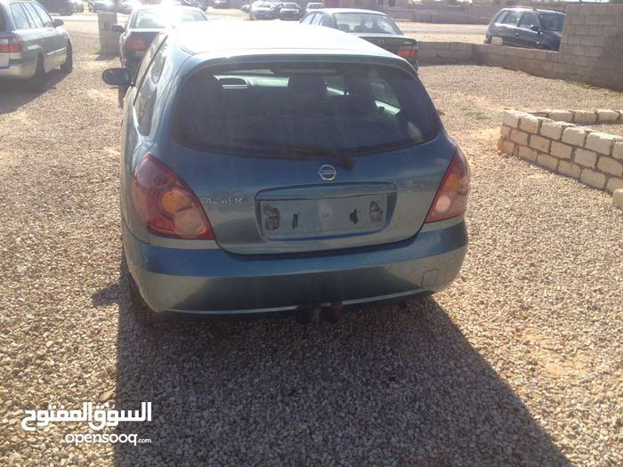 Manual Turquoise Nissan 2005 for sale