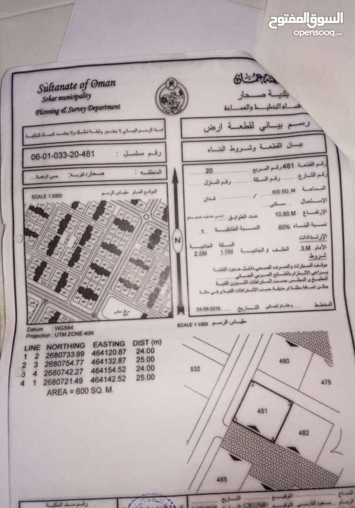 للبيع ارض في حي رفعة 20